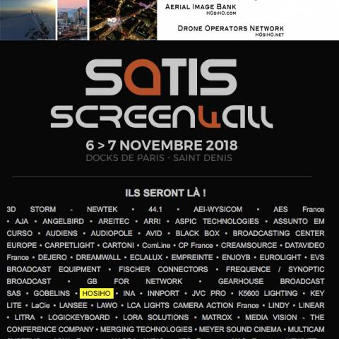 HOsiHO is attending the SATIS 2018 tradeshow in Paris !