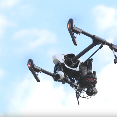 Drone Inspire for Thermal Inspection with FLIR camera