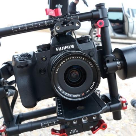Prestation drone au M600 en Camargue, pour Fujifilm UK!