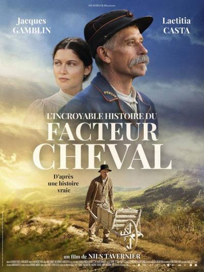 Affiche Film L'incroyable histoire du Facteur Cheval