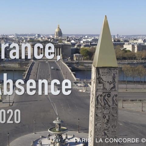"""Confinement Covid-19 : Vidéo """"La France en Absence"""""""