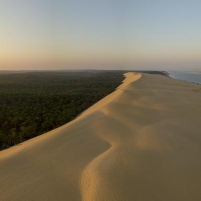Photo aérienne de la Dune du Pilat, Arcachon, Gironde, 33